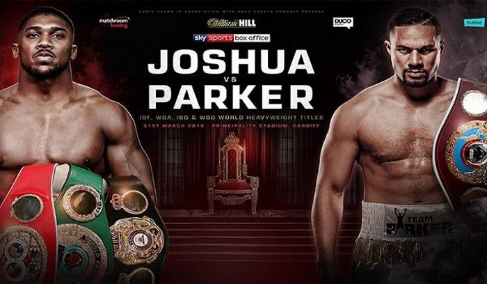 Nächster Gegner von Anthony Joshua wird am 31. März erst einmal Joseph Parker sein