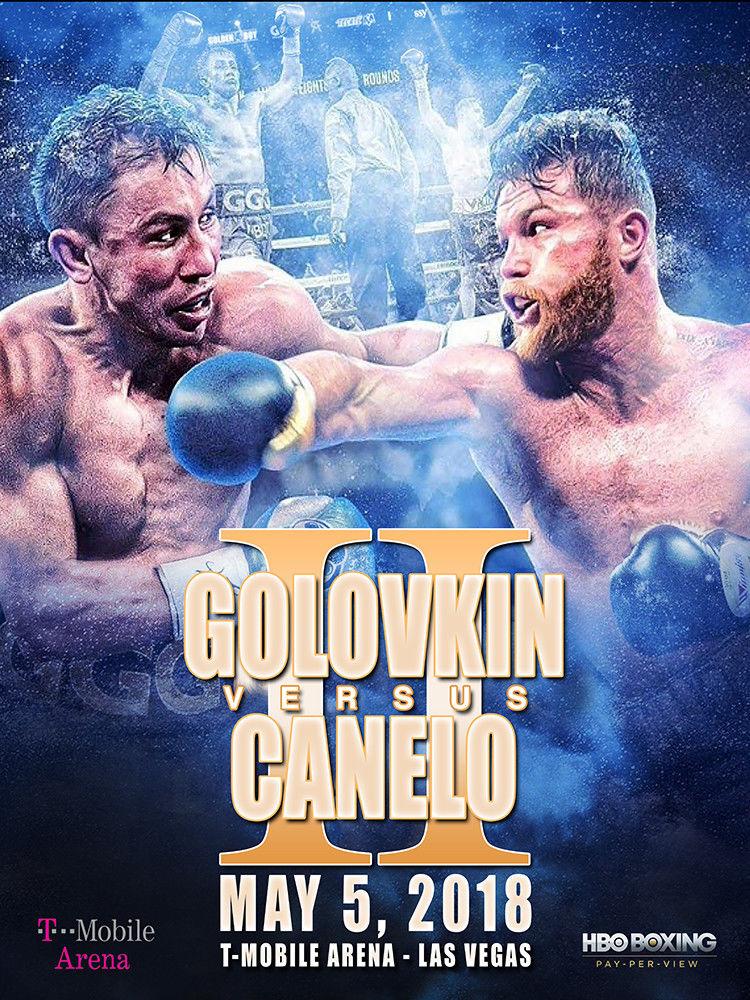 Canelo vs Golovkin 2 Poster