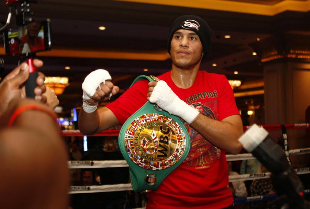 Ein WM Kampf gegen den WBC Champion David Benavidez ist eine Option für Jose Uzcategui
