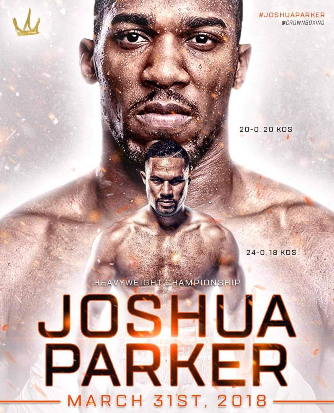 Joshua vs Parker Poster