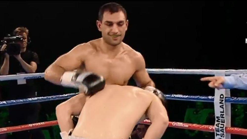 Klarer und souveräner  Punktsieg von Araik Marutjan in seinem zweiten Kampf nach seiner schweren Verletzung im März letzten Jahres.