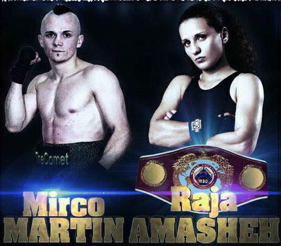 Raja Amasheh und Mirco Martin