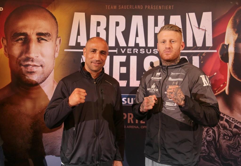 Abraham vs Nielsen / Foto: Sebastian Heger