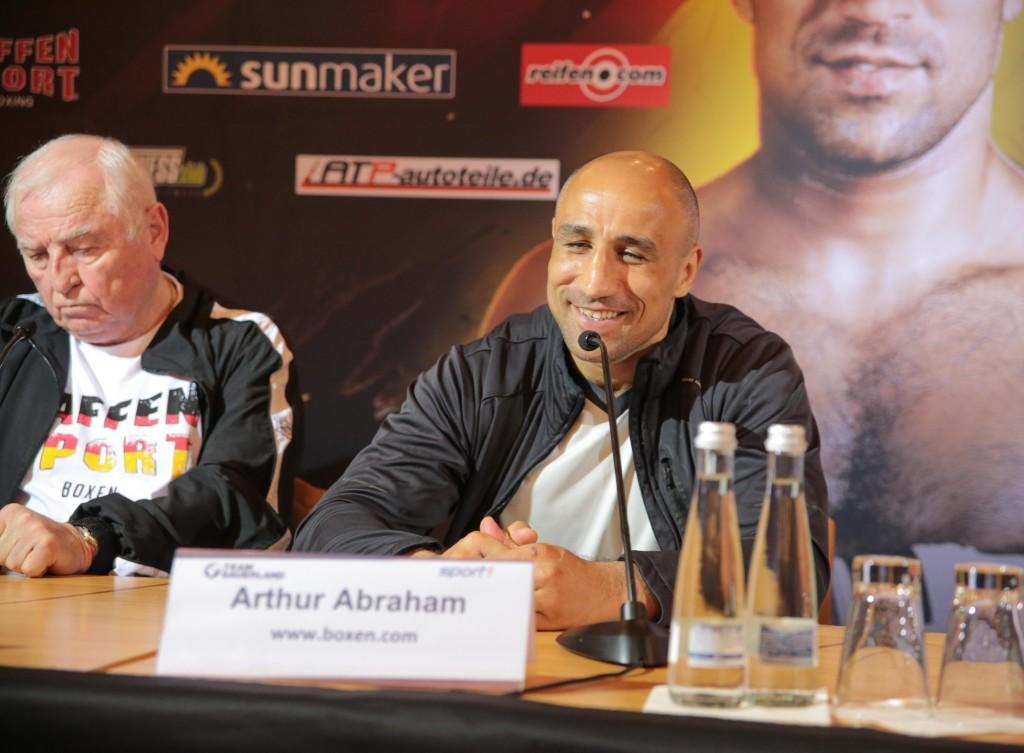 Arthur Abraham / Foto: Sebastian Heger