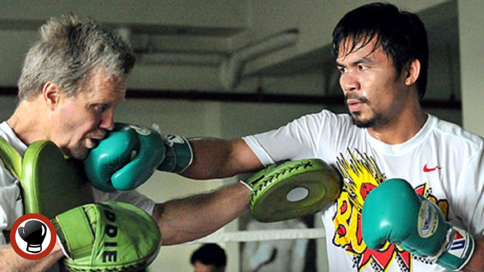 Manny Pacquiao und Freddy Roach1