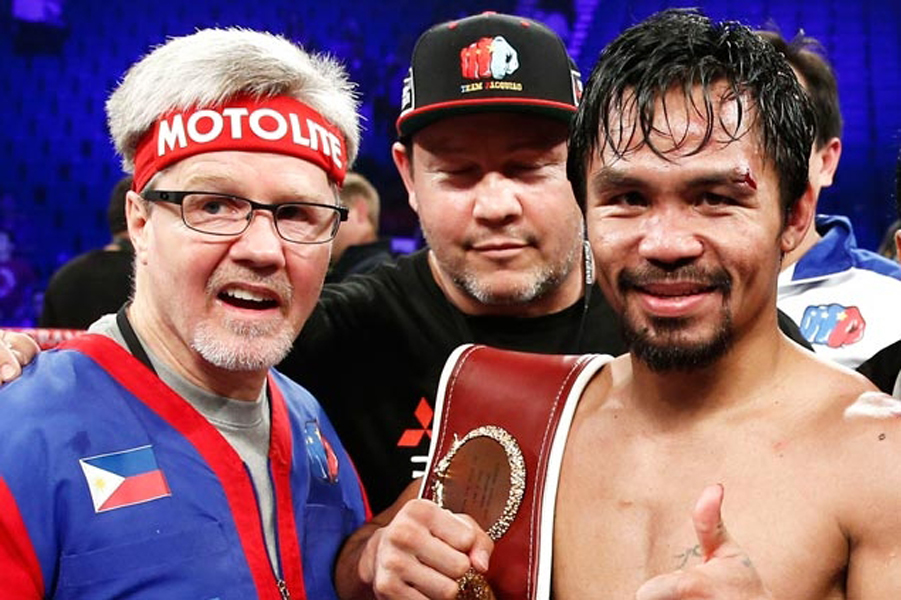 Manny Pacquiao und Freddy Roach4