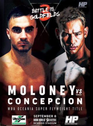 Andrew Moloney vs Luis Concepcion