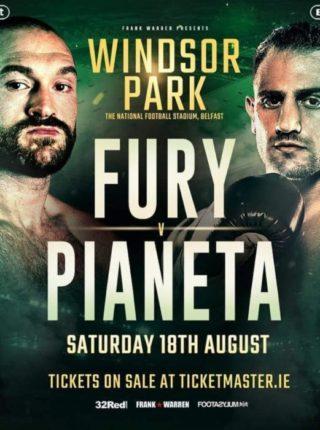 Fury vs Pianeta
