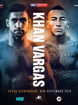 Khan vs Vargas