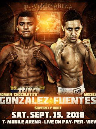 Roman Gonzalez vs Moises Fuentes