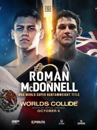 Danny Roman vs. Gavin McDonnell