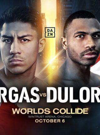 Jessie Vargas vs Thomas Dulorme
