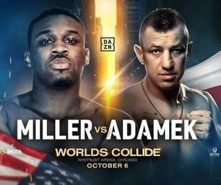 Miller vs Adamek Poster