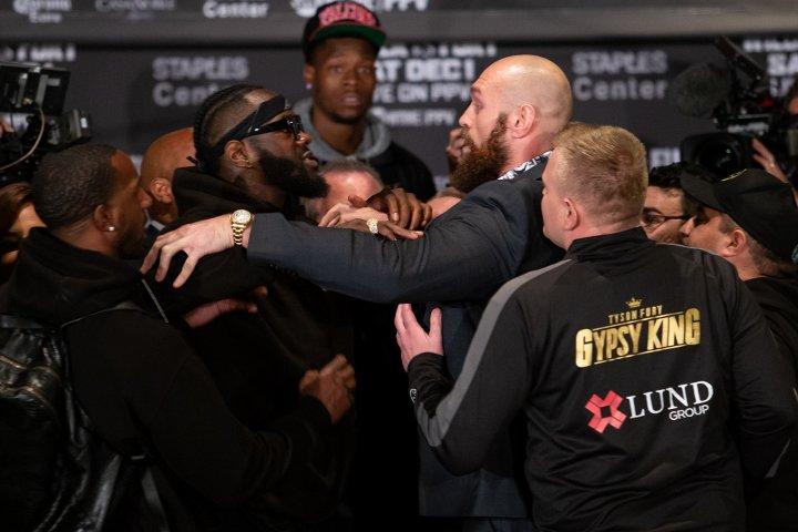 Fury Wilder Kampf