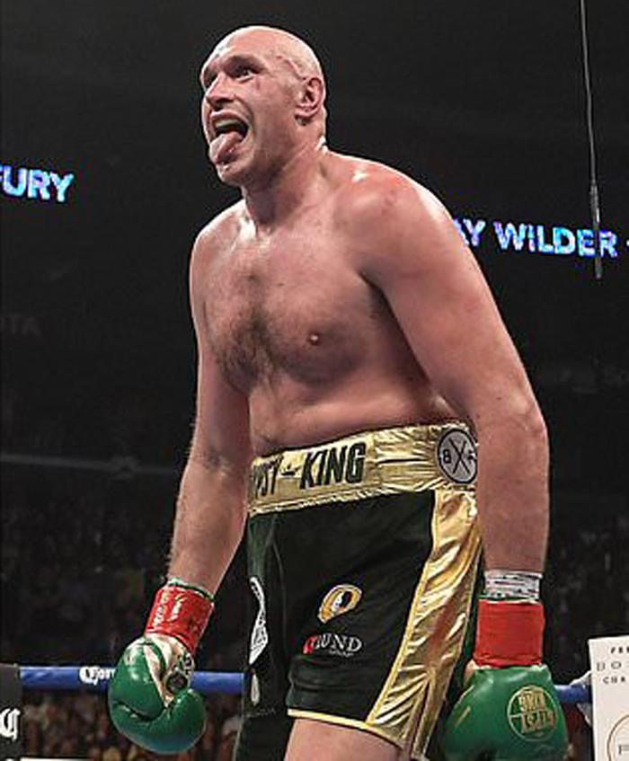 Deontay Wilder Vs Tyson Fury: Zwei Boxer Dem Wahnsinn