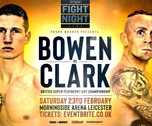 Sam Bowen vs Ronnie Clark