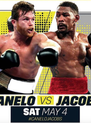 Canelo vs Jacobs Poster