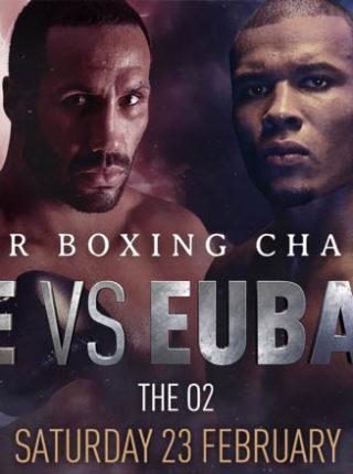 James DeGale vs. Chris Eubank Jr.