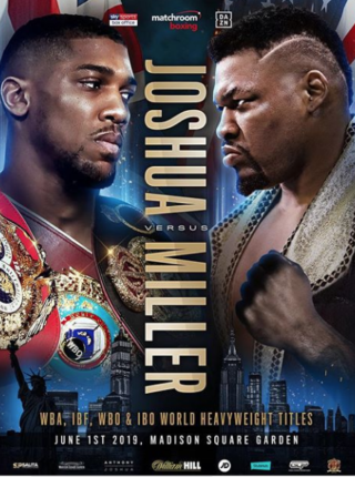 Anthony Joshua vs Jarrell Big Baby Miller
