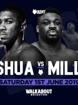 "Anthony Joshua vs. Jarrell ""Big Baby"" Miller"