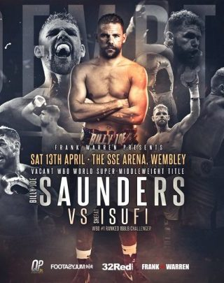 Billy Joe Saunders vs. Shefat Isufi