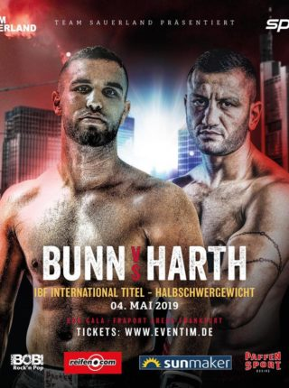 Bunn vs Harth Poster