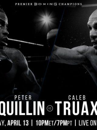 Caleb Truax vs. Peter Quillin