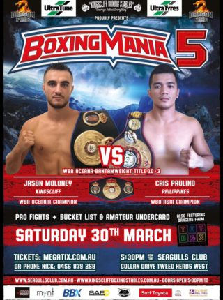 Jason Moloney vs. Cris Paulino