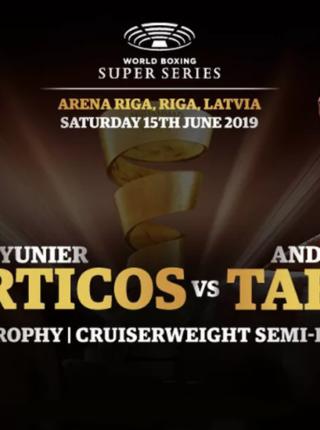 Yunier Dorticos vs Andrew Tabiti