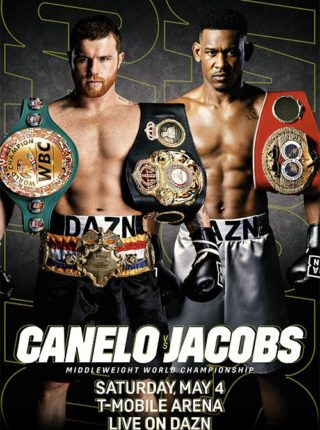 Canelo vs Jacobs Poster 1