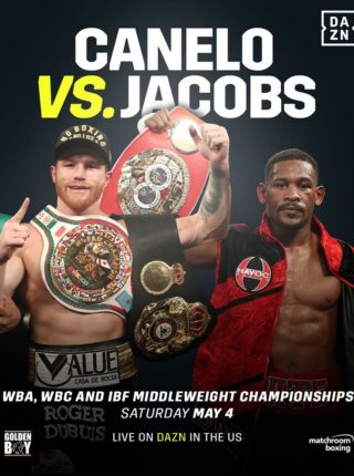 Canelo vs Jacobs Poster 2