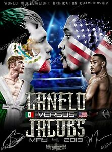 Canelo vs Jacobs Poster 3