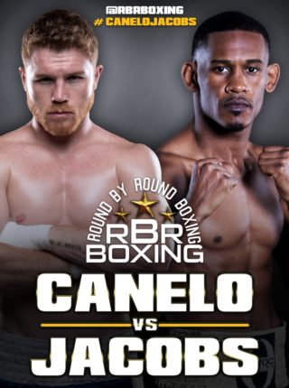 Canelo vs Jacobs Poster 4