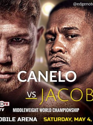 Canelo vs Jacobs Poster 5