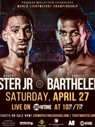 Easter jr vs Barthelemy