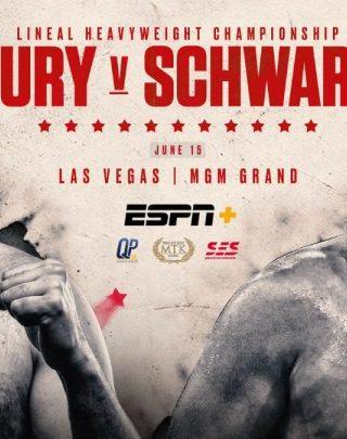 Fury vs Schwarz Poster