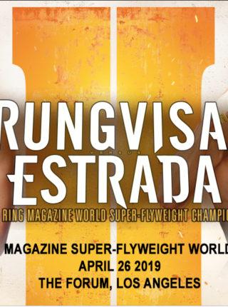 Rungvisai vs Estrada