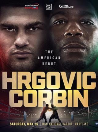 Hrgovic vs Corbin Poster