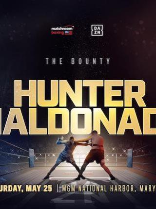Hunter vs Maldonado Poster