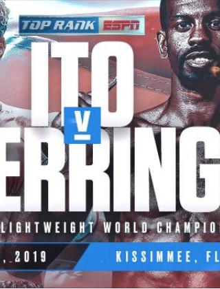 Masayuki Ito vs. Jamel Herring Fight-Poster