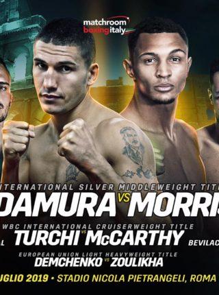 Blandamura vs Morrison Poster