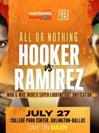 Hooker vs Ramirez Poster