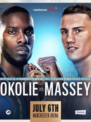 Okolie vs Massey Poster
