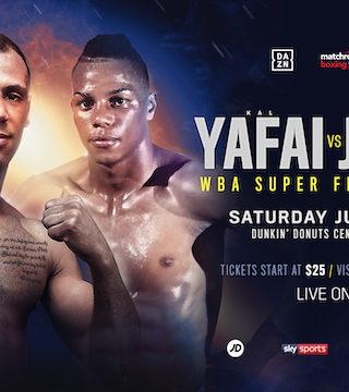 Yafai vs Jimenez Poster