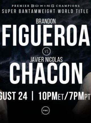 Brandon Figueroa vs. Javier Nicholas Chacon Poster