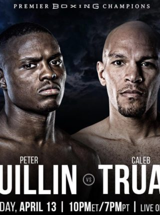 Caleb Truax vs. Peter Quilin Poster