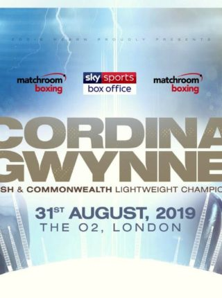 Cordina vs Gwynne Poster