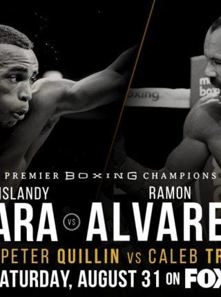 Erislandy Lara vs. Ramon Alvarez Poster