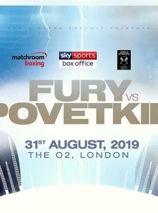 Fury vs Povetkin Poster
