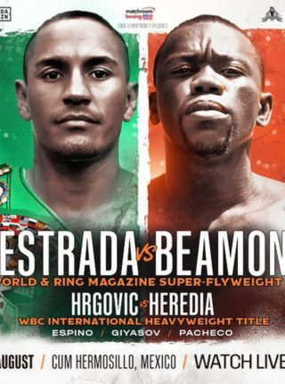 JUAN FRANCISCO ESTRADA VS DEWAYNE BEAMON Poster